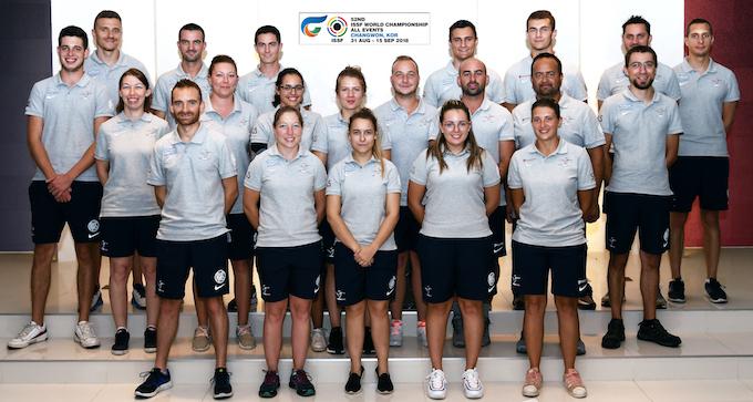 CDM ISSF 2018 CdM ISSF 2018 Team 1.jpg